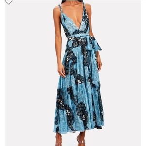 Ulla Johnson Kemala floral silk chiffon dress